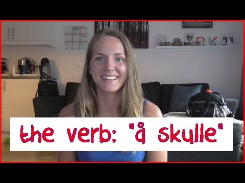 "Norwegian Verb: ""Å Skulle"". Important Verb To Know!"