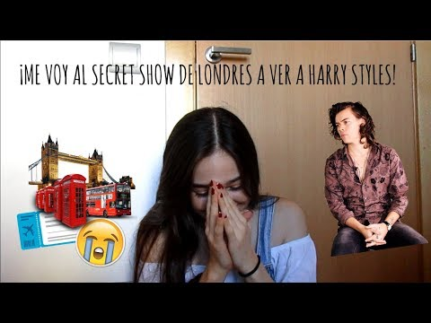 Experiencia Secret Show de Harry Styles en Londres🙈
