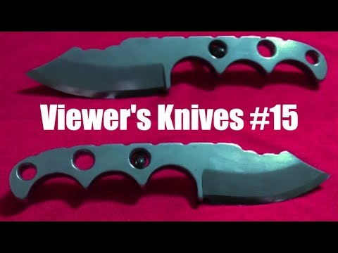 Viewer's Knives # 15