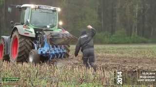Pokazy nowości FENDT maszyny rolnicze Łany Wielkie, 10.04.2014, Korbanek