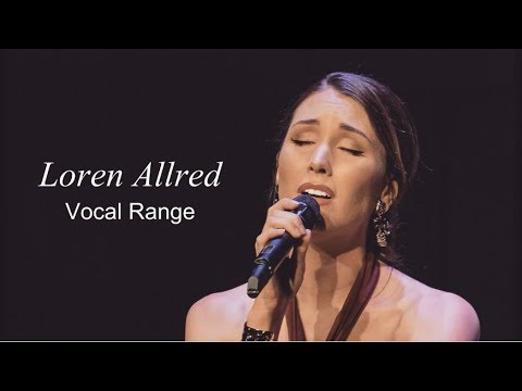 [HD] Loren Allred Vocal Range (C3 - G♯5)