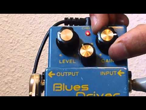 Boss BD-2 Blues Driver Pedal Demo W/Fender Stratocaster
