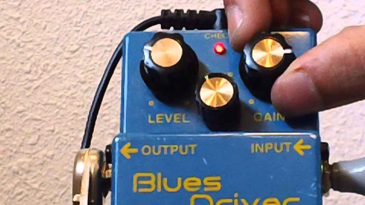 Boss BD-2 Blues Driver Pedal Demo W/Fender Stratocaster - YouTube