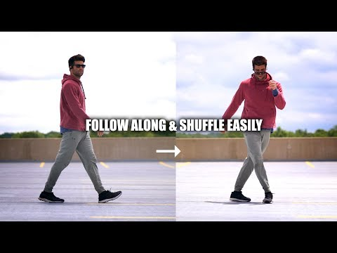 Learn to Shuffle Fast by Turning Walking into Dance