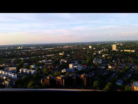 Aussicht vom Fernsehturm Florian in Dortmund (4K)