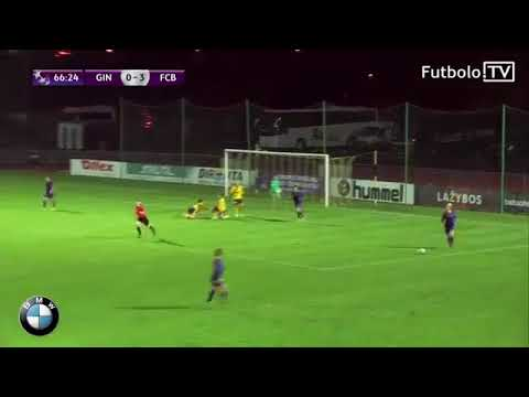 Humorous fail by a participant of Gintra Universitetas in champions league (girls)