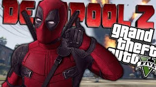 GTA 5 Mods - Deadpool 2 Mod with Weapons! This mod is similar to th...