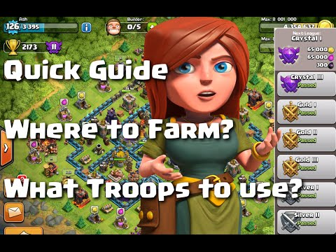 Clash of Clans - Guide: Where to farm? What troops to use?
