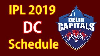 In This Video you Know DC Team first 5 matches schedule in IPL 2019...