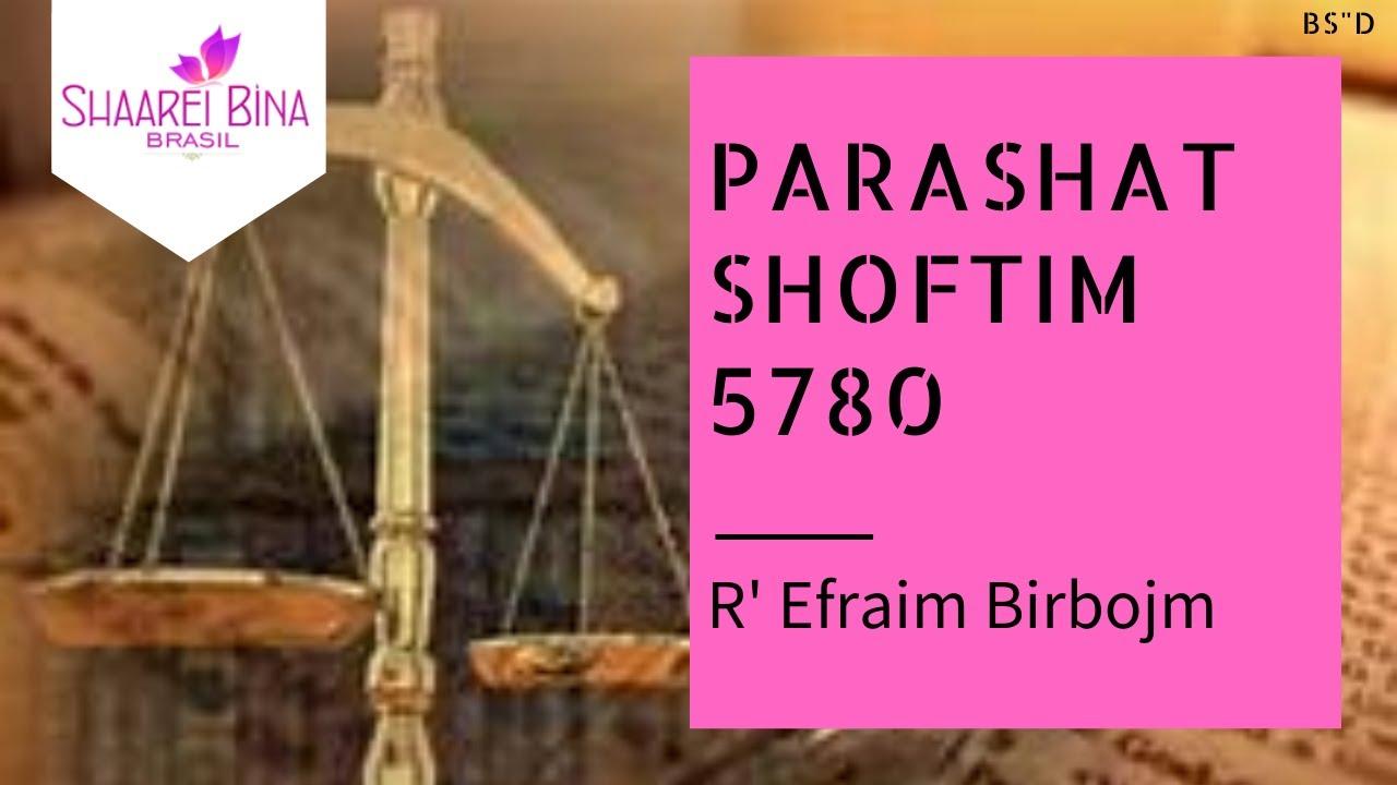 Parashá Shoftim 5780/ 2020