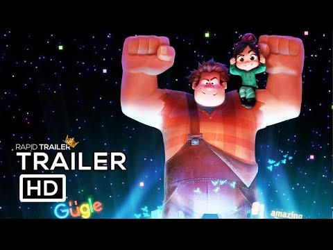 Thumbnail: WRECK IT RALPH 2 Trailer #1 (2018) Kristen Bell Animated Movie HD