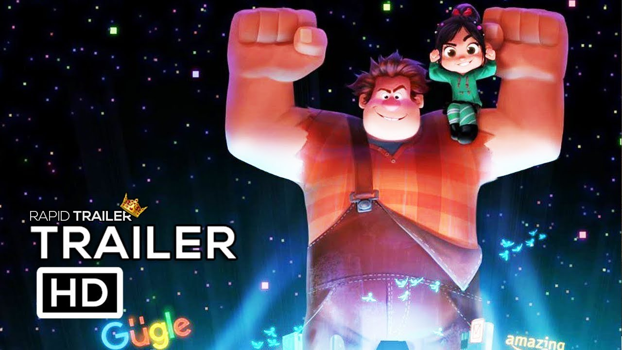 WRECK IT RALPH 2 Trailer #1 (2018) Kristen Bell Animated ...