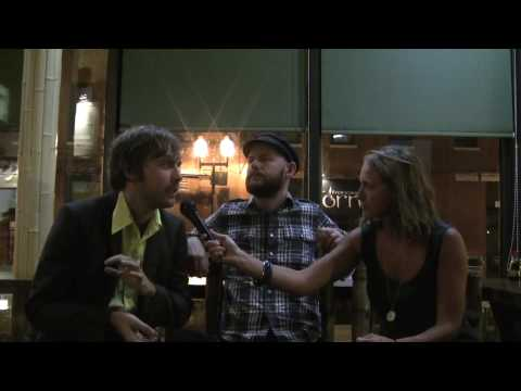 PETER, BJORN AND JOHN interview at Lollapalooza 09 (c6tv)
