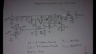 transmitter FM VCO 250 mwatt BF970 BFR91A