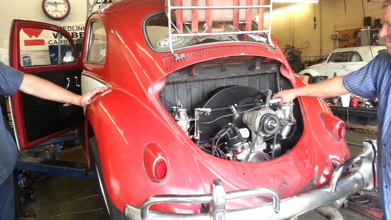 First Start Chirco Built 1904cc Aircooled VW Engine Part 1