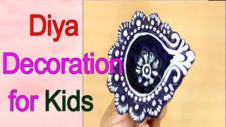 #DiyaDecorationIdeas#DIY Diya Decoration Ideas | Easy Diya Decoration | Diwali Craft Ideas | DIY