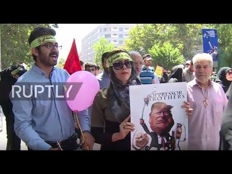 Iran: Rouhani joins thousands for Al-Quds Day demonstrations in Tehran