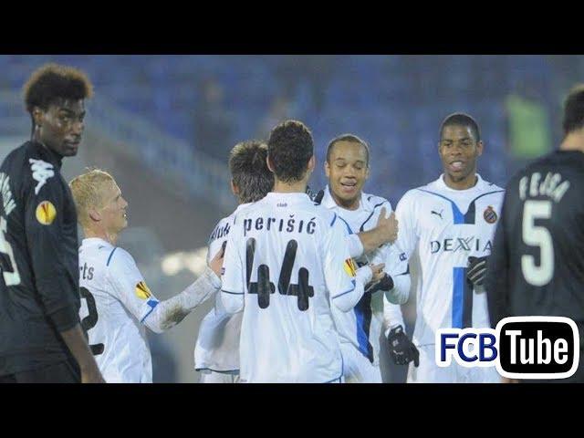 2009-2010 - Europa League - 08. Groep J Match 4 - Partizan Belgrado - Club Brugge 2-4