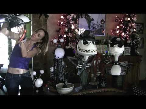 nightmare before christmas decorated halloween house very cool
