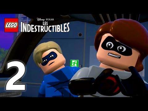 LEGO LES INDESTRUCTIBLES #2   L'aérotrain