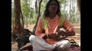 Baul Song-Shantiniketan Hut-Bolpur -India