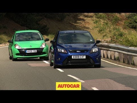 Renaultsport Clio 200 Cup v Ford Focus RS – autocar.co.uk