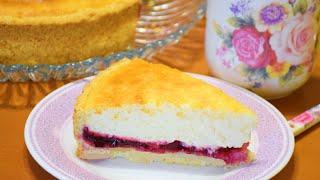 Вкуснее Любого Торта ✧ Творожный Пирог с вишней