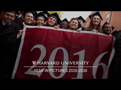 Harvard University: Year in Pictures 2015-2016