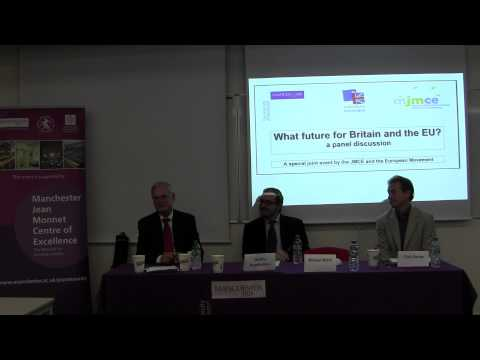JMCE & European Movement, Special Event: Britain & The EU. Part 3/3.