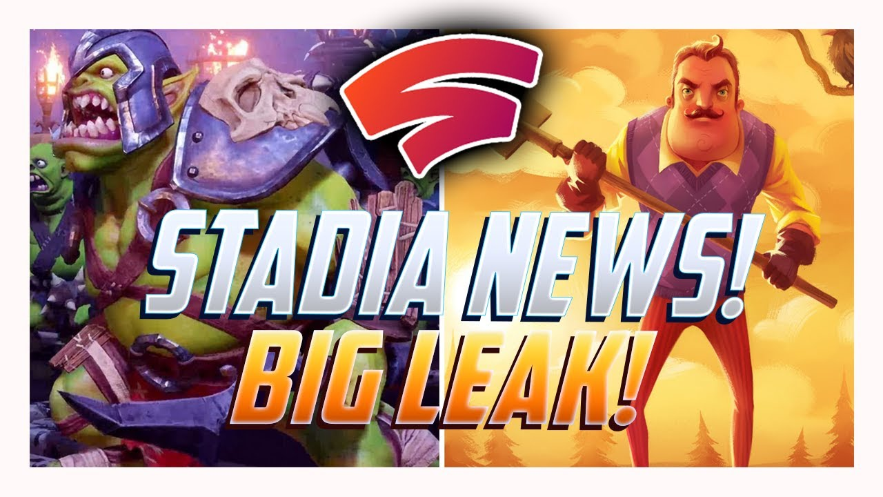 Stadia News: Stadia Connect Leak! Orcs Must Die 3 Coming? More Games Rated And Headed Our Way!