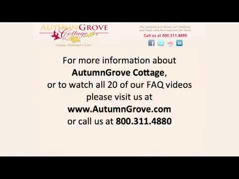 Levels of care at Assisted Living Facilities | AutumnGrove Cottage (Video 12)