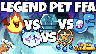 CROB WHICH LEGEND PET IS BEST?! FREE FOR ALL LAND 8 CookieRun Ovenbreak