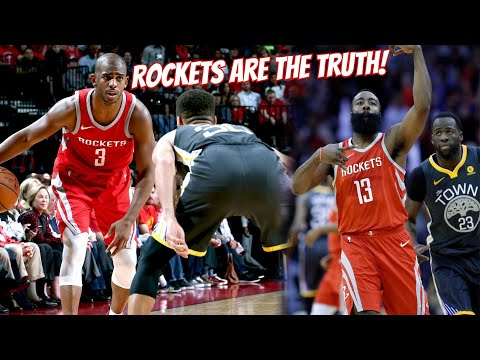 Rockets Are #1 in the WEST! Golden State Warriors vs Houston Rockets Highlights