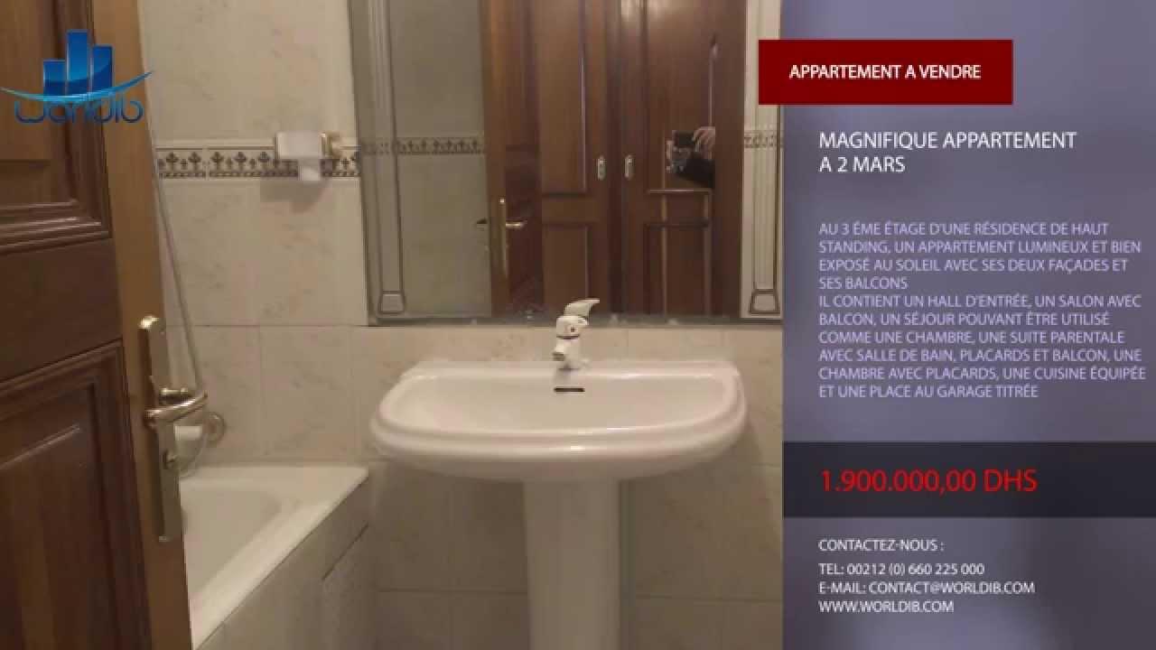 Salle De Bain Avec 2 Entrees magnifique appartement a 2 mars --- worldib --- agence immobiliere ---  casablanca --- maroc