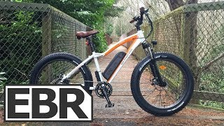 Rad Power Bikes RadRover Video Review - $1.5k Affordable Fat Electric Bike, Twist Throttle