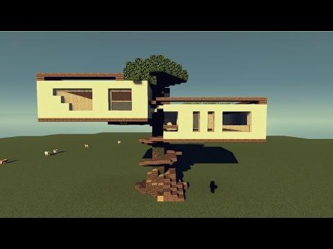 Minecraft Lüks Ağaç Ev #1