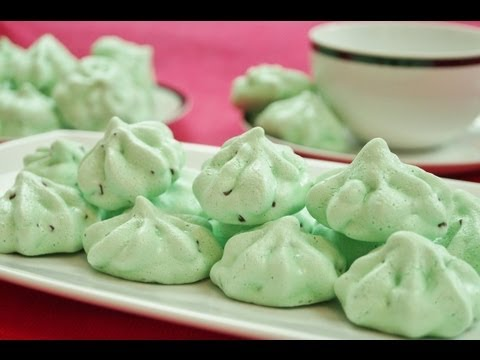 Meringue Cookies Recipe: Mint Chocolate Chip Meringue Cookies Recipe: Di Kometa: Dishin' With Di #57