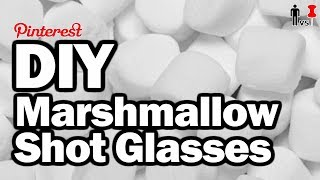 DIY Marshmallow Shot Glasses - Man Vs. Pin - Pinterest Test #42