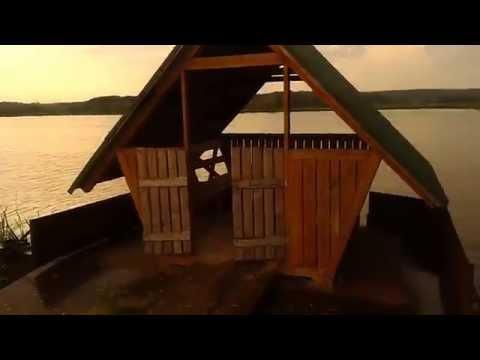 Можно снять домик для отдыха и рыбалки