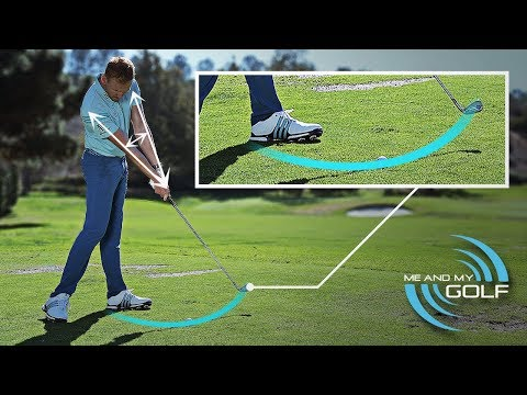 CHANGE YOUR SWING PATH TO HIT THE GOLF BALL STRAIGHTER