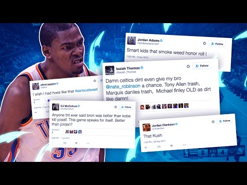 WHO SAYS THAT!? READING NBA PLAYERS OLD TWEETS!