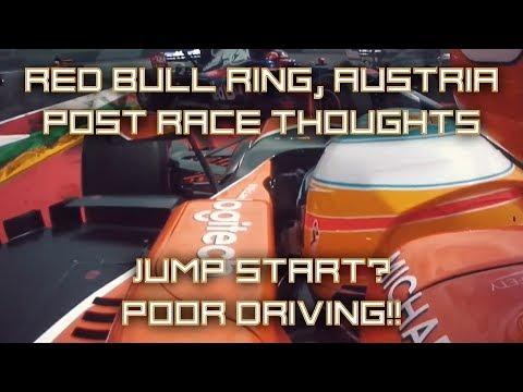 F1 Austrian Grand Prix 2017 - Red Bull Ring, Austria - Post Race Thoughts - Jump Start?