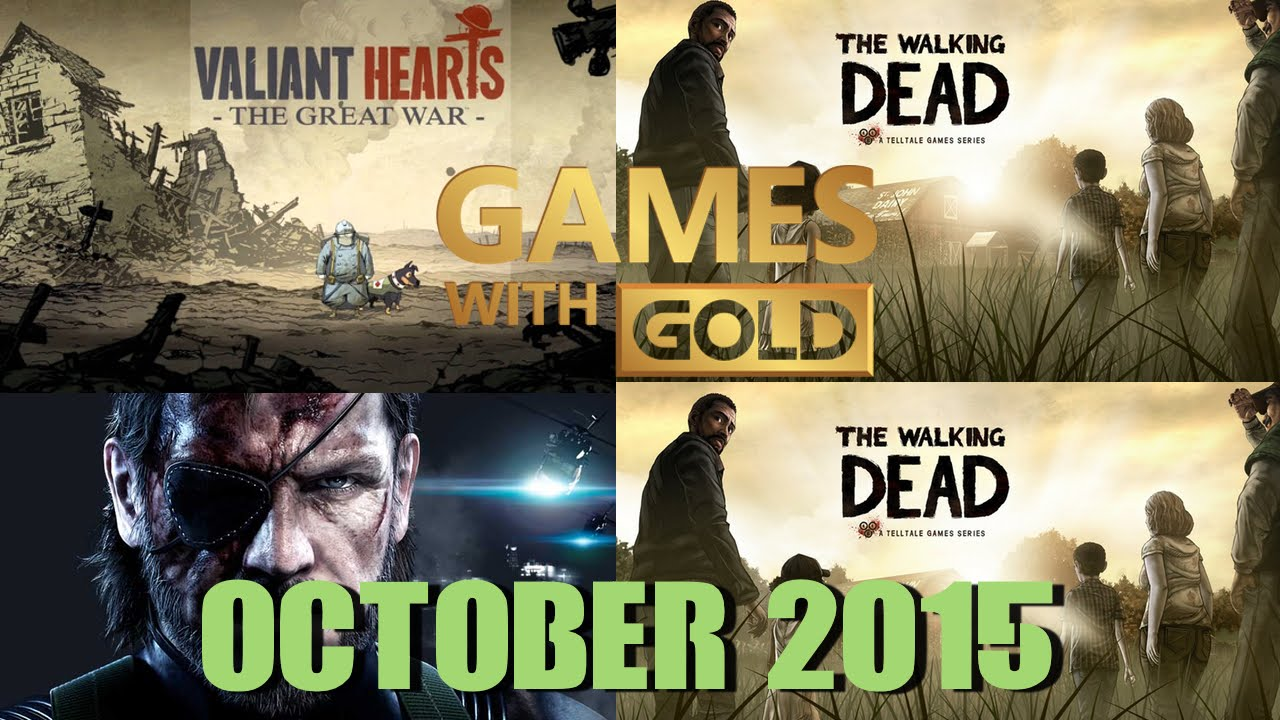 Xbox Games With Gold October 2015 Youtube