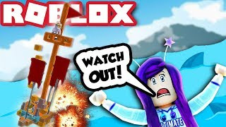 OUR EPIC FLAG BOAT LASTED FOREVER! | Build a Boat for Treasure Roblox