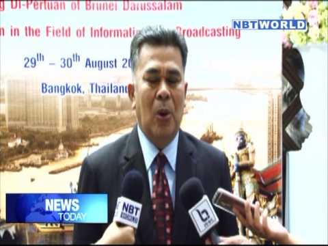 Thailand's PRD and Brunei's RTB continue to embrace in broadcasting cooperation