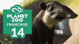 PLANET ZOO | EP. 14 - A NEW ANIMAL (T)APPEARS (Franchise Mode Lets Play)