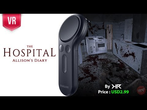 The Hospital Allison's Diary Gear VR with Gear VR Controller gameplay