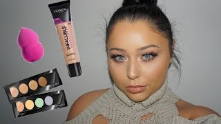 NEW L'oreal Total Cover Foundation, Kit & Sponge First Impression | Video |