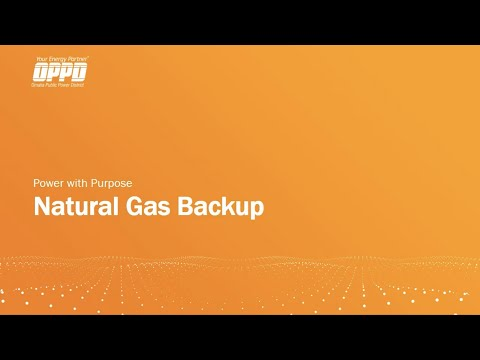 Natural Gas Backup Generation Presentation