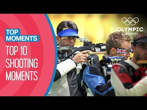 Top 10 Shooting Moments at the Olympics | Top Moments